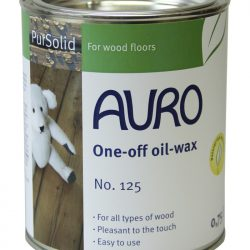 AURO 125 ONE-OFF OIL-WAX (SOLVENT-FREE) *STOCK LOW*