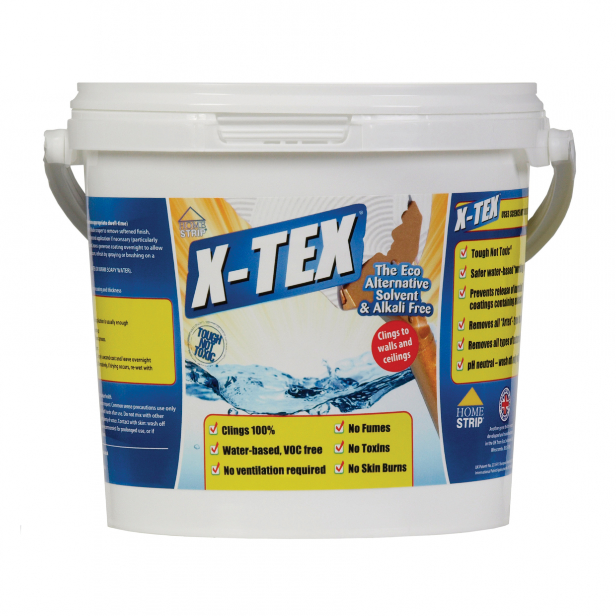 HOME STRIP X-TEX TEXTURED COATINGS REMOVER 2.5 LITRE
