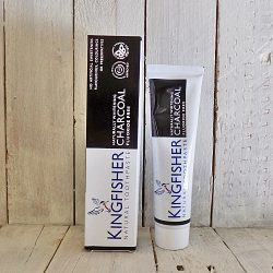 KINGFISHER CHARCOAL NATURAL WHITENING TOOTHPASTE