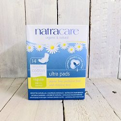 NATRACARE ULTRA PAD WITH WINGS - REGULAR