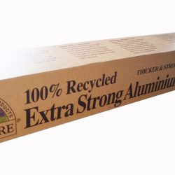 EXTRA STRONG 100% RECYCLED ALUMINIUM FOIL 7M X 40CM